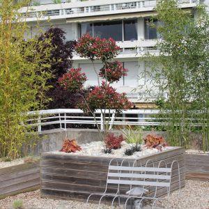 aménagement de terrasse vineuil harmonivert